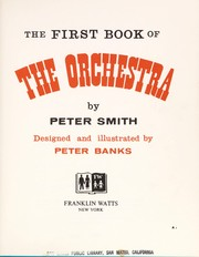 The first book of the orchestra.