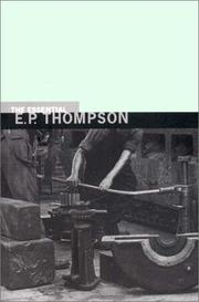 Cover of: The essential E.P. Thompson