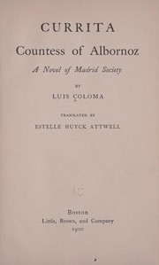 Cover of: Currita, countess of Alborrnoz