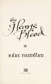 Cover of: Heart's blood
