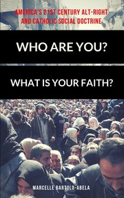 Cover of: Who Are You? What is Your Faith? America