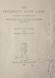 Cover of: The children's fairy-land