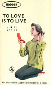 Cover of: To Love Is to Live