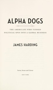Cover of: Alpha Dogs