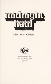 Cover of: Midnight haul