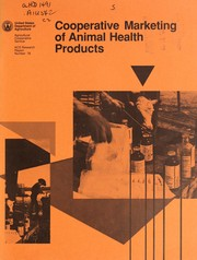 Cover of: Cooperative marketing of animal health products