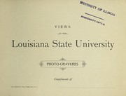 Cover of: Views at the Louisiana State University
