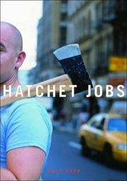 Cover of: Hatchet Jobs: Writings on Contemporary Fiction
