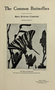 Cover of: The common butterflies