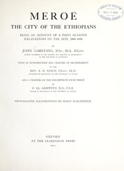 Cover of: Meroë, the City of the Ethiopians