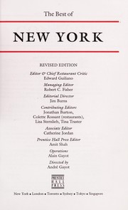 Cover of: Best of New York | Prentice-Hall