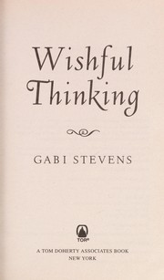 Cover of: Wishful thinking