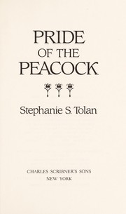 Cover of: Pride of the peacock