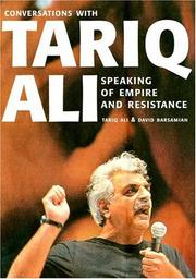 Cover of: Speaking of Empire and Resistance: Conversations with Tariq Ali