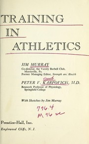 Cover of: Weight training in athletics | Jim Murray