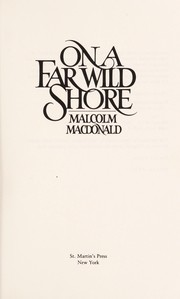 Cover of: On a far wild shore
