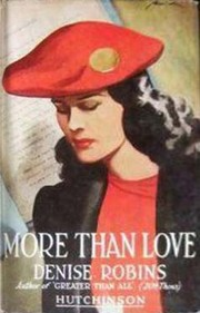 Cover of: More than love