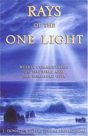 Cover of: Rays of the One Light |