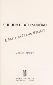 Cover of: Sudden death sudoku