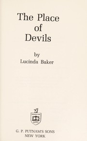 Cover of: The place of devils | Lucinda Baker