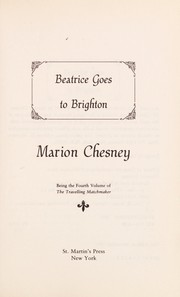 Cover of: Beatrice goes to Brighton | Marion Chesney