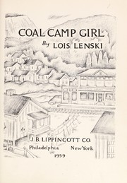 Cover of: Coal camp girl