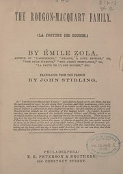 Cover of: The Rougon-Macquart family | Г‰mile Zola