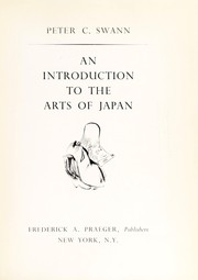 Cover of: An introduction to the arts of Japan
