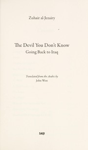 Cover of: The devil you don't know
