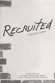 Cover of: Recruited | Suzanne Weyn
