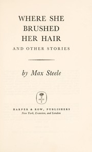 Cover of: Where she brushed her hair, and other stories