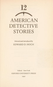 Cover of: 12 American detective stories