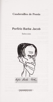 Porfirio Barba Jacob by Porfirio Barba Jacob