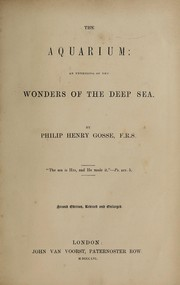 Cover of: The aquarium