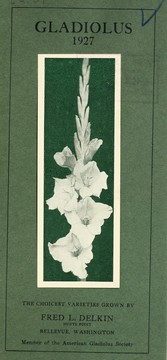 Cover of: Gladiolus | Fred L. Delkin (Firm)
