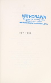 Cover of: How long