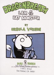 Cover of: Lair of the bat monster