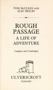 Cover of: Rough passage