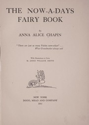 Cover of: The now-a-days fairy book