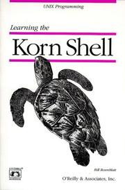 Cover of: Learning the Korn shell
