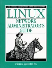 Cover of: Linux network administrator's guide