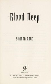 Cover of: Blood deep | Sharon Page
