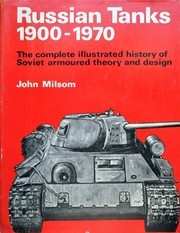 Cover of: Russian tanks, 1900-1970