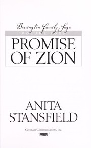 Cover of: Promise of Zion