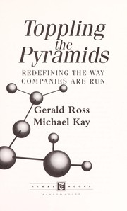 Cover of: Toppling the pyramids | Gerald Ross