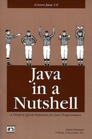 Cover of: Java in a nutshell