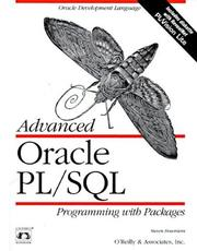 Cover of: Advanced Oracle PL/SQL: programming with packages