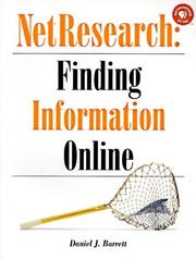 Cover of: NetResearch