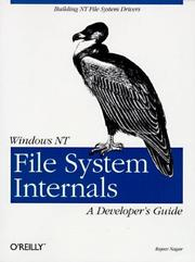 Cover of: Windows NT file system internals