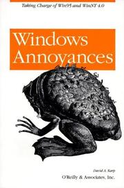 Cover of: Windows Annoyances | David A. Karp